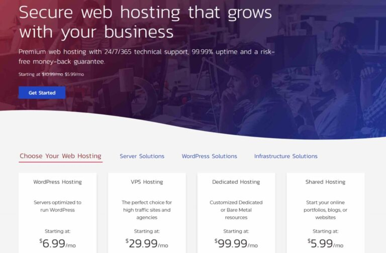 review hosting inmotion